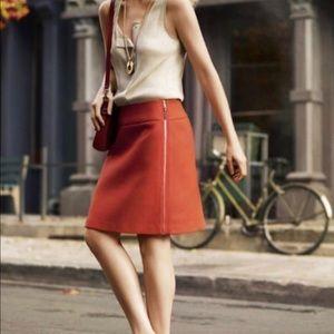 Ann Taylor side zip 8P skirt